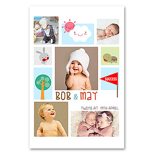 Portrait - Baby Collage 5
